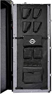 Raymace Large Gun Safe Door Panel Organizer 16 1/2W-19 9/10W inch 47 1/4 inch Adjustable Storage Solution for Long Gun Safe Cabinet