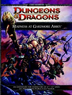 Madness at Gardmore Abbey (Dungeons & Dragons Supplement)