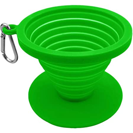 Details about  /Soft Silicone Pour Over Coffee Dripper Reusable Filter Cone Brewer Portable