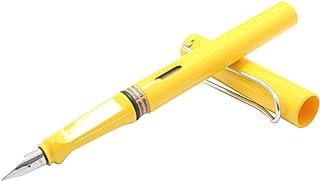 LAMY 凌美 safari狩猎者F(标准)尖墨水笔(钢笔)亮黄(标配吸墨器)