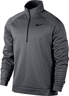 Men's Therma Training Top Carbon Heather/Black Small