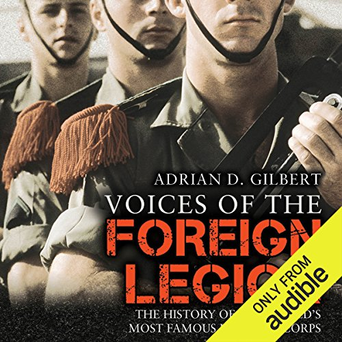 Voices of the Foreign Legion audiobook cover art