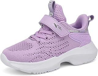 Baskets Fille Chaussure de Sport Antidérapantes Mode Sneakers pour Enfants Fille EU 28-37