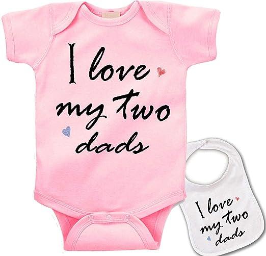 babybyte Im a Camo Loving Kinda Girl.Cute Baby Bodysuit Onesie /& Matching Bib Set