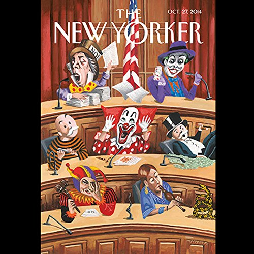 The New Yorker, October 27th 2014 (Richard Preston, Kelefa Sanneh, Dan Chiasson) audiobook cover art