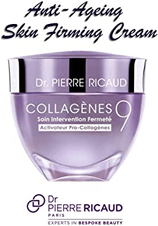 Dr Pierre Ricaud, Paris Collagenes 9 Pro-Collagen Anti Aging Firming Care Cream for Slackening Skin 40ml/1.3oz Womens Skincare. Boosts Firmness. Skin is firmer 84%