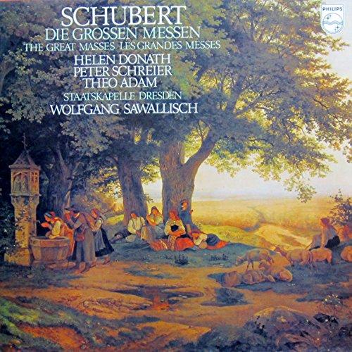 Schubert: Die grossen Messen / The Great Masses [Vinyl Schallplatte] [2 LP Box-Set]