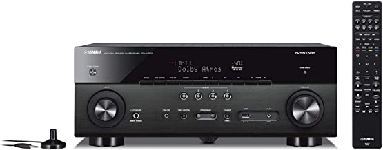 Yamaha RX-A780 AVENTAGE 7.2-Channel AV Receiver with MusicCast - Black (Renewed)