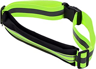 Reflective Sports Running Belt with Pocket