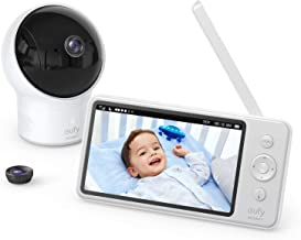 Video Baby Monitor, eufy Security Video Baby Monitor with Camera and Audio, 720p HD..