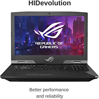 HIDevolution ASUS ROG G703GX 17.3 FHD 144Hz | 2.9 GHz i9-8950HK, RTX 2080, 32GB 2666MHz RAM, 1TB (2 x 512GB) PCIe SSD | Authorized Performance Upgrades & Warranty