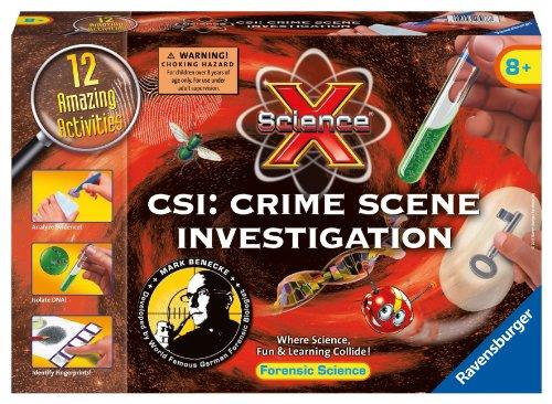 Ravensburger Science X CSI Crime Scene Investigation Activity Kit