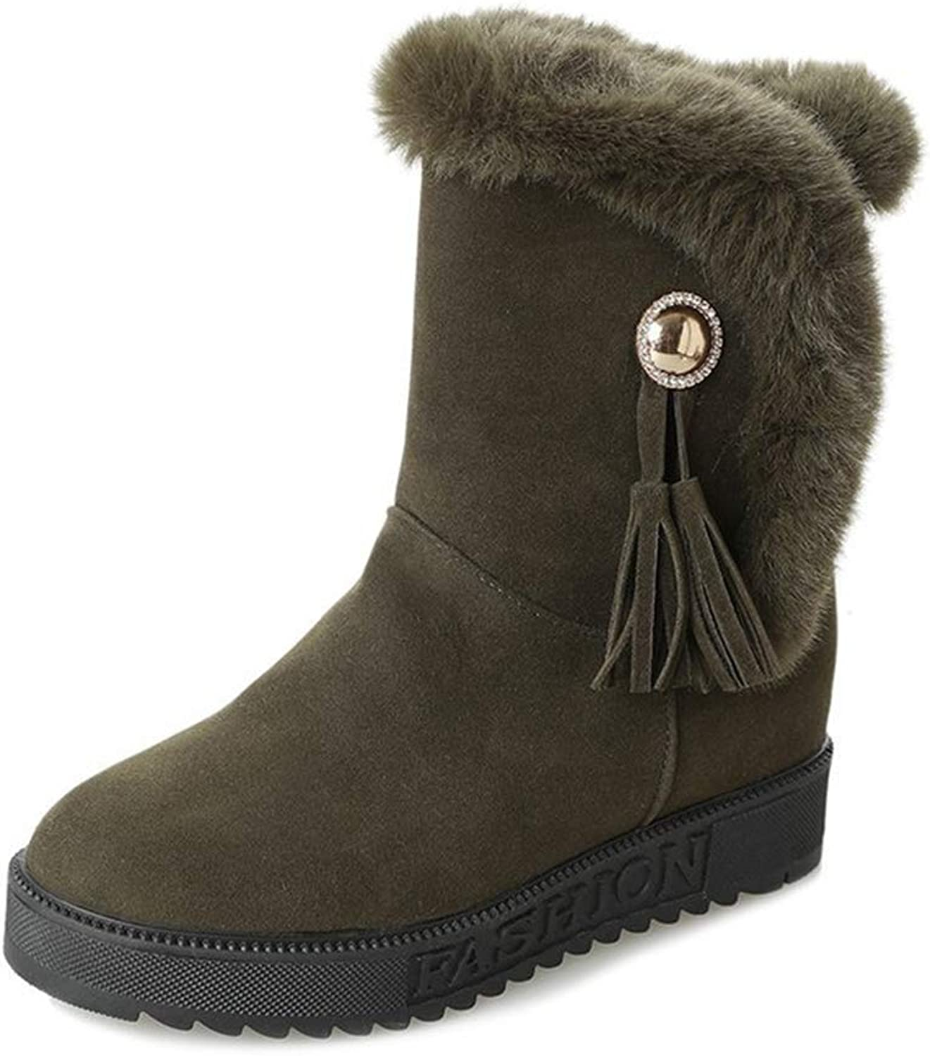 Coloing Women's Autumn Winter Fashion Warm Non-Slip Boots High top shoes Boot
