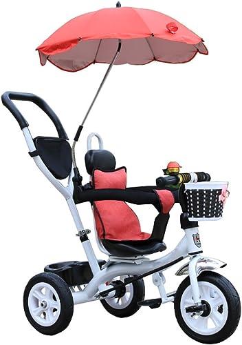 centro comercial de moda BZEI-BIKE Triciclo Carro de bebé Bicicleta Niño Juguete Trolley Rueda Rueda Rueda de Bicicleta Inflable 3 Ruedas, Asiento Giratorio (Niño niña, 1-3-5 años) Niños Juguetes  Los mejores precios y los estilos más frescos.