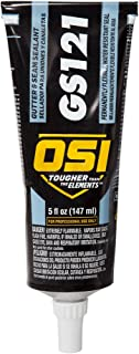 OSI GS121 White Gutter and Seam Sealant 5-Fluid Ounce Squeeze Tube (1767609)
