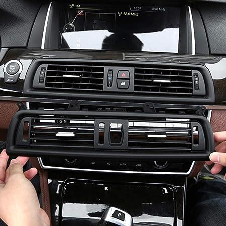 Car Rear Uscita Aria Vent pannello griglia di copertura for BMW F10 F11 F18 5 Serie 2010-2017 Car AC Aria condizionata Centro posteriore Console Fresh Air bocchetta Grille copertura della griglia