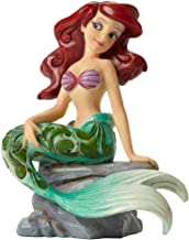 """Disney Traditions by Jim Shore """"The Little Mermaid"""" Ariel Personality Pose Stone Resin Figurine, 4.2"""