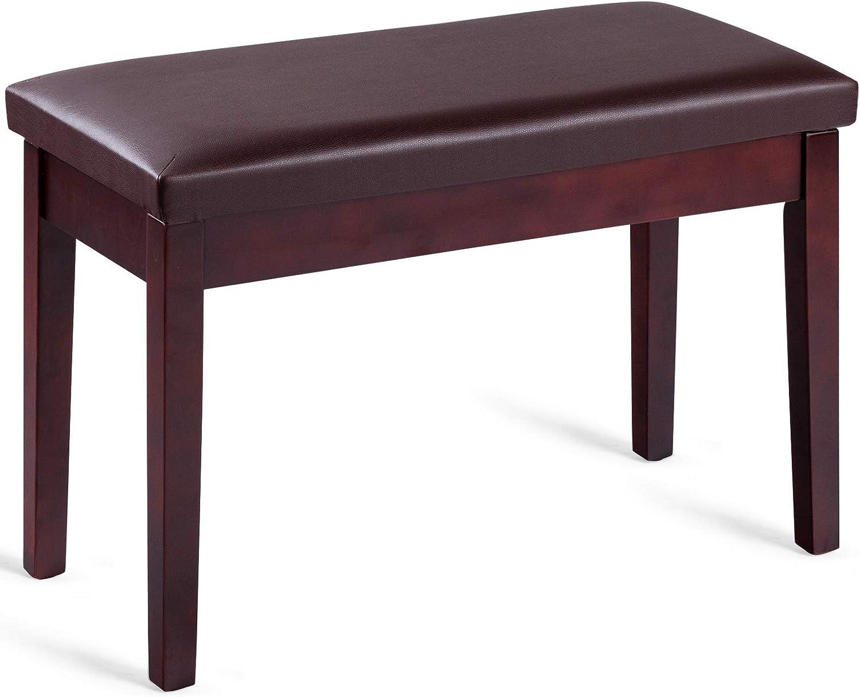 Giantex Piano Bench W Padded Comforta Storage 2021new shipping Ranking TOP3 free and Cushion Music