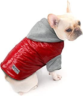 Dog Cold Weather Coat - Waterproof Windproof Dog Jacket - Warm Cotton-Padded Doggie Vest Pets Clothes for Small Medium Large Dogs