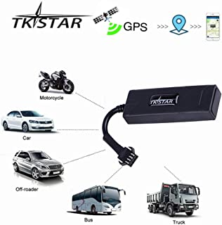 TKSTAR GPS Tracker Car Truck Vehicle Real-time Tracking Anti-Theft Mini Outdoor Tracker GPS/GSM/GPRS SIM Card SMS Tracker with Free APP TK806