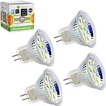 GreenSun LED Lighting MR11 GU4 3W 12 * 2835SMD Gloeilamp LED Spot Gloeilamp spotlight lamp AC/DC 12V peer spotlight licht,...