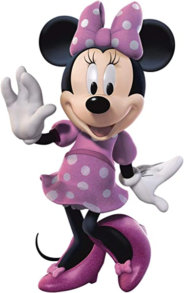 FATHEAD Minnie Mouse Giant Officially Licensed Disney Removable Wall Decal