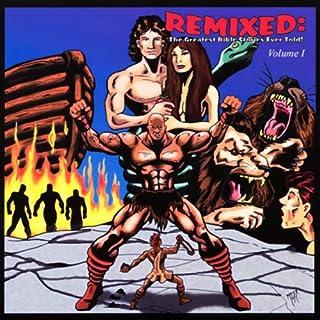 Remixed audiobook cover art