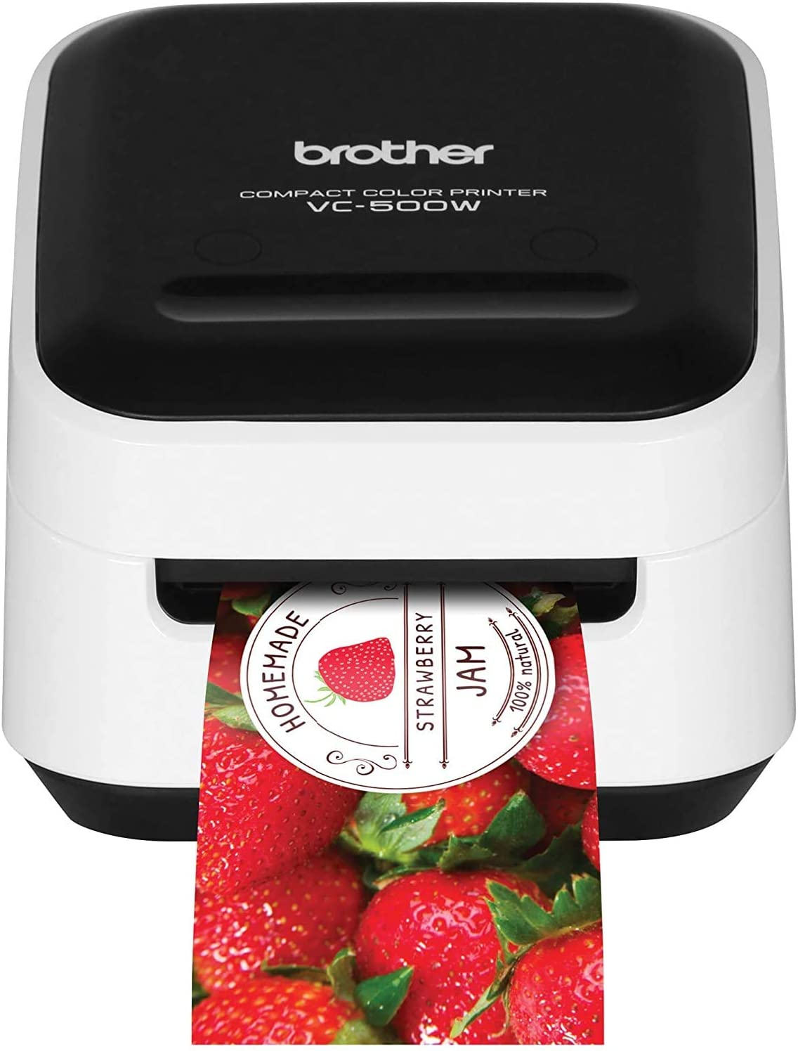 Brother VC-500W Versatile Compact Color Label and Photo Printer