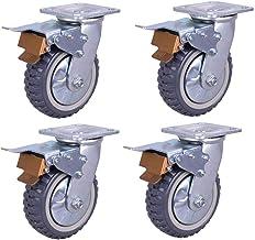 Zwenkwielen (4 stuks) rem 4 inch Heavy duty industrieel 5 inch Hot wheels 6 inch Rem 8 Inch slijtage