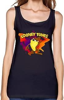 KEIKO Women's Tasmanian Devil Taz Looney Tunes Tank Tops