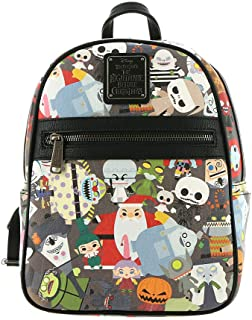 359b6c531de0 Loungefly x Nightmare Before Christmas Chibi Character Mini Backpack