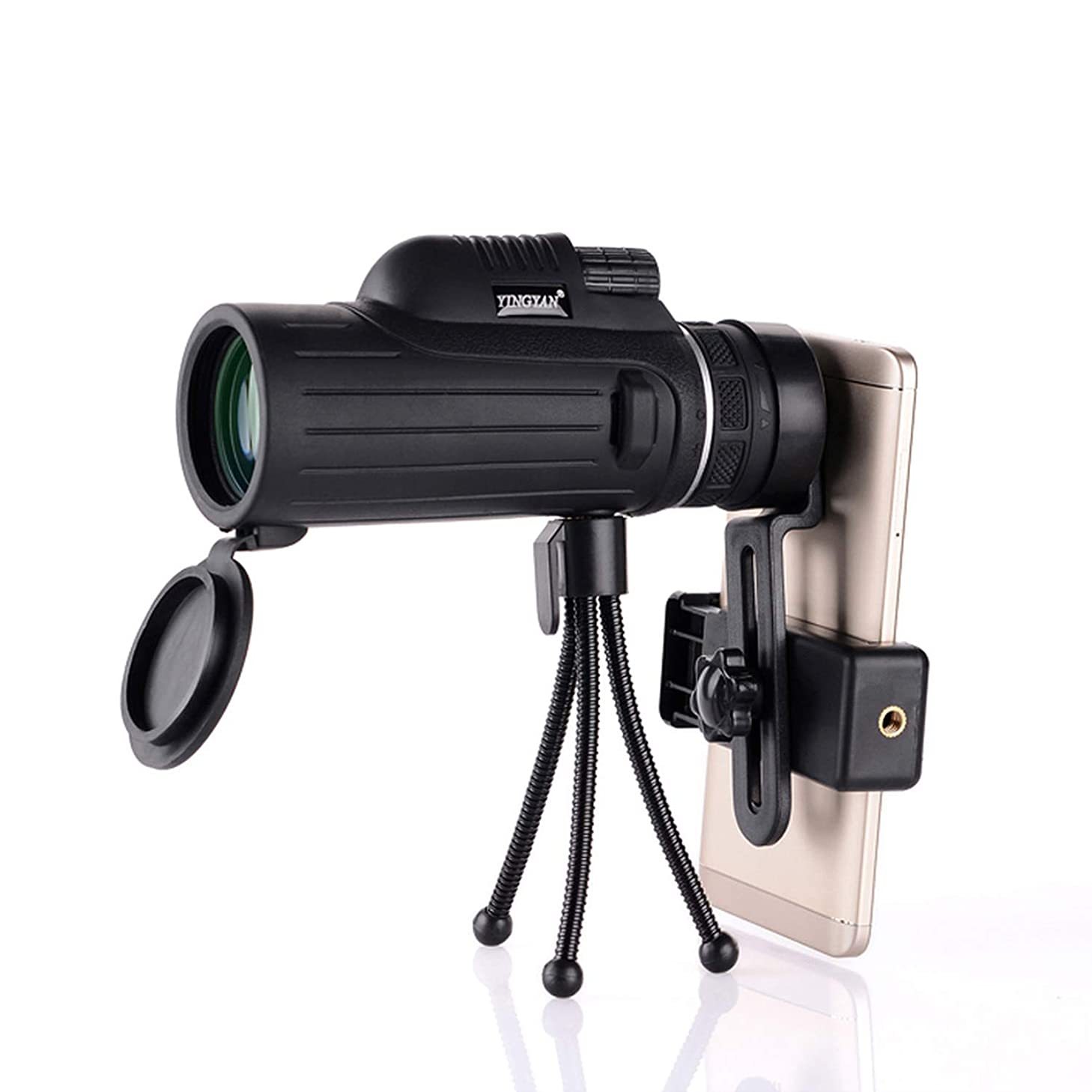 40X55 Optical Zoom Monocular Telescopes Camera Lens for iPhone Samsung HTC Huawei Xiaomi