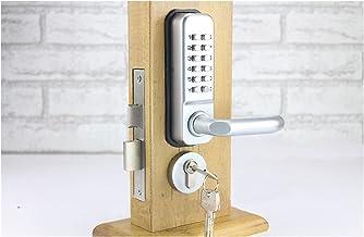 Deurslot Waterdichte hendel handvat mechanische code deurslot met toetsen Machine combinatie sloten a Stabiel en betrouwbaar