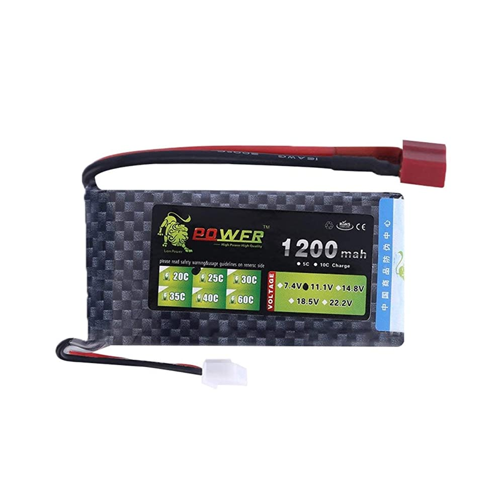 Liobaba A+ Lion 11.1V 3S 1200mah 25C Lipo Battery Power for RC Helicopter 3D Airplane