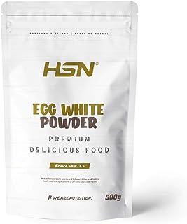 comprar comparacion HSN Albumina de Huevo 100% Clara de Huevo en Polvo Deshidratada | Proteína Natural | Sin Grasas, Sin Colesterol, Vegetaria...
