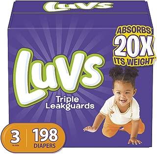 luvs size 3