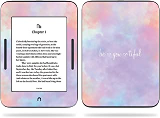 MightySkins Skin Compatible with Barnes & Noble Nook GlowLight 3 (2017) - BeYouTiful | Protective, Durable, and Unique Vinyl Decal wrap Cover | Easy to Apply, Remove | Made in The USA