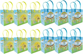 TINYMILLS Jesus Loves You Religious Christian Themed Treat Bags Gift Bags - 6