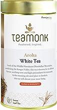 Sponsored Ad - Teamonk Aroha Premium Himalayan Kangra White Tea Loose Leaf (37 Cups) | 100% Natural Tea | Powerful Antioxi...