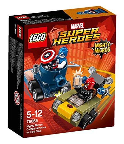 LEGO Super Heroes - Set Mighty Micros: Capitán América vs. Cráneo Rojo (76065)