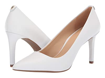 MICHAEL Michael Kors Dorothy Flex Pump (Optic White Vachetta) Women