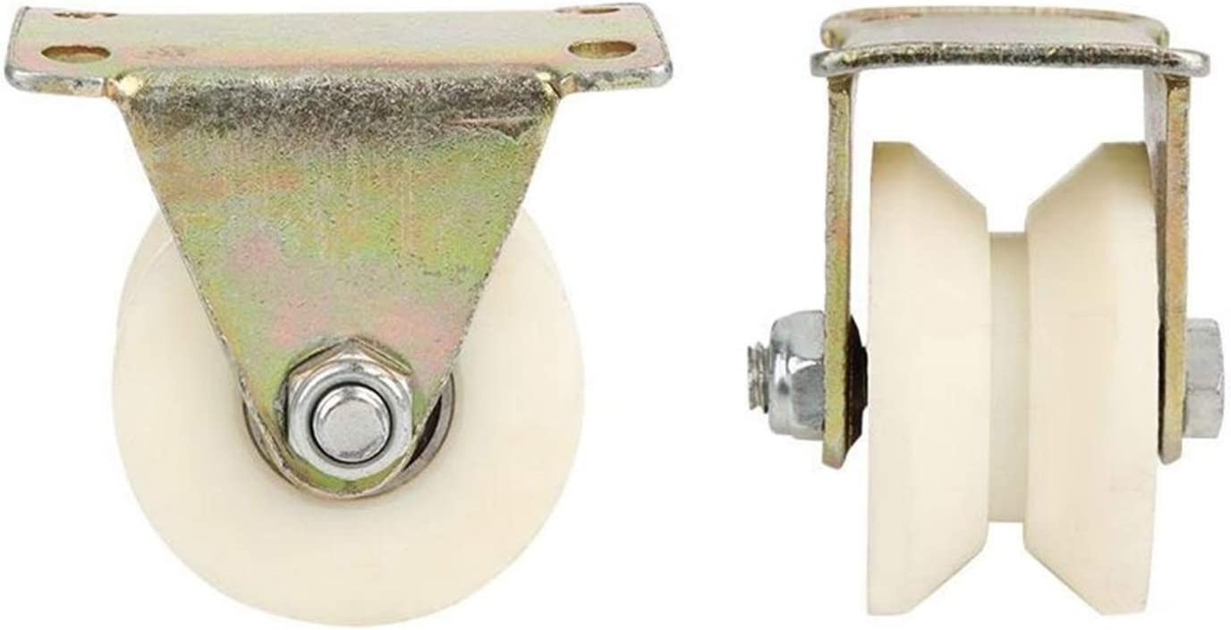 Langlebige Riemenscheibe 1Pcs U-Groove Caster Wheel Plastic Meta