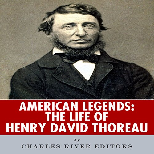 American Legends: The Life of Henry David Thoreau audiobook cover art