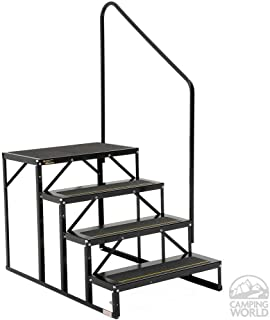 Stromberg Carlson EHS-103-R Park Model Econo Porch-3-Step, Black