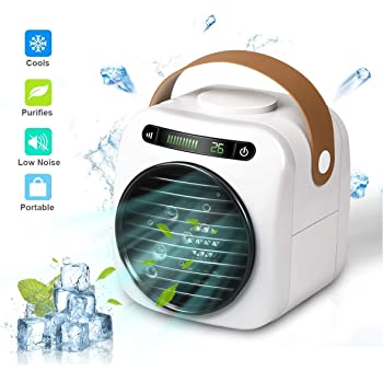 Air Cooler Mini Refrigerador de Aire, Aire Acondicionado Portátil ...
