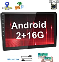 [2G+16G] Hikity 10.1 Inch Android Car Stereo Double Din Touch Screen Radio Bluetooth WiFi..