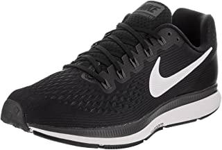 Nike Men's Air Zoom Pegasus 34 Running Shoes (14, Black-M)