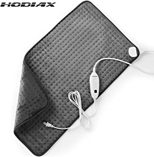 """HODIAX XXXL King Size Heating Pad for Fast Pain and Cramps Relief, Electric 6 Heat Settings with Auto Shut-Off, for Back Neck Shoulders Abdomen Legs - 33"""" x 17"""""""