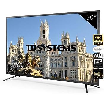 Televisores Smart TV 50 Pulgadas 4K UHD Android 9.0 y HbbTV / 1500 ...