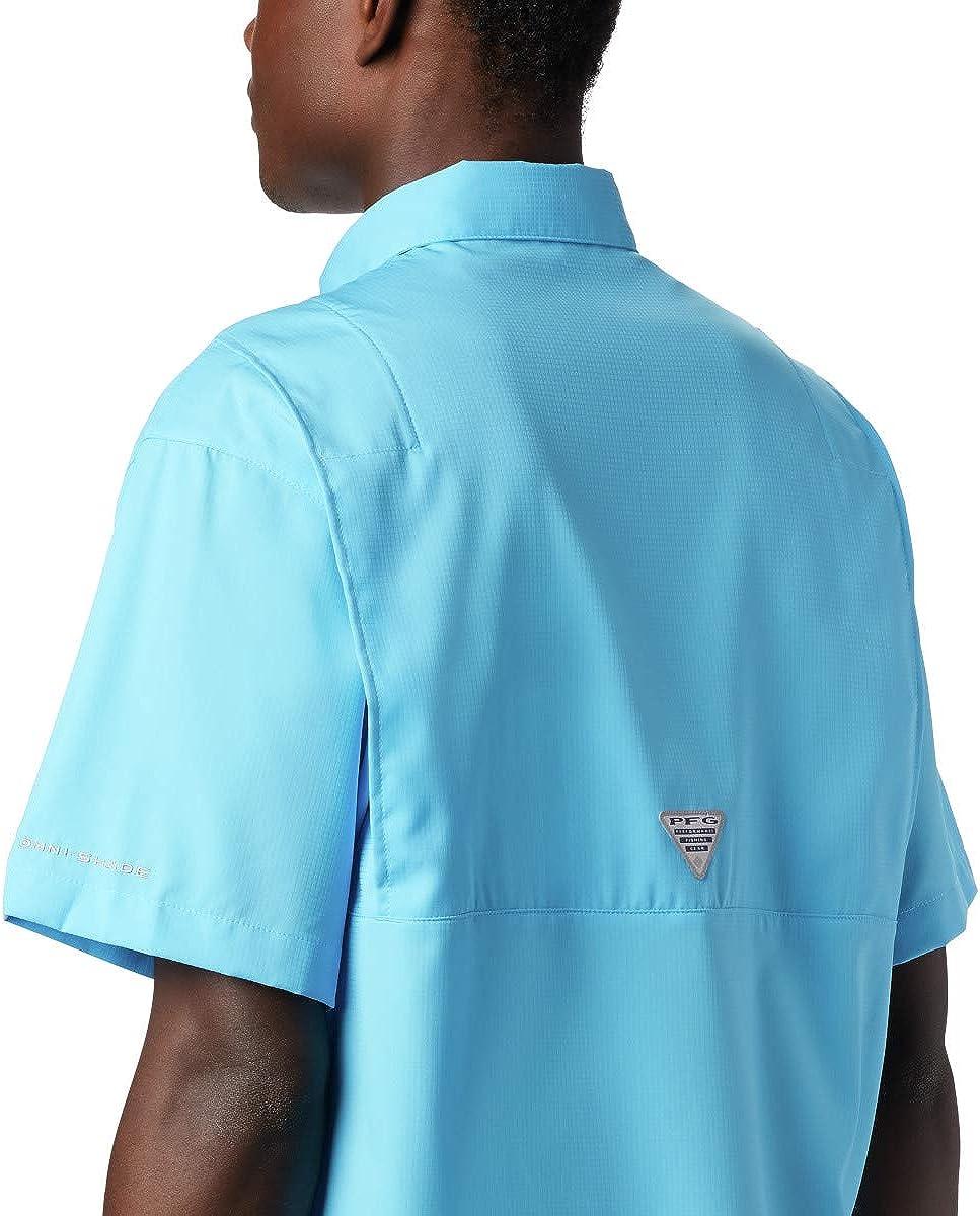 Columbia Mens PFG Tamiami Ii Short Sleeve UPF Shirt
